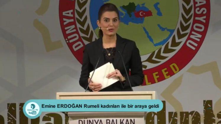 Dünya Balkan Dernekleri Federasyonu Protokol Sunumu